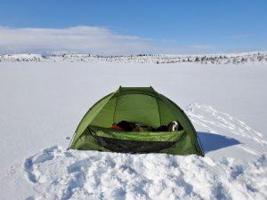 Komfort på isfisketur