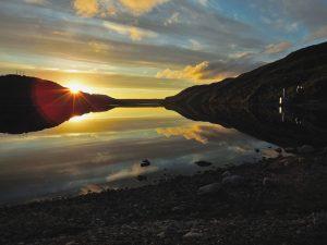 Langfjorden ved Sandnesbrua