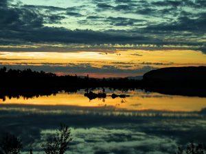 Julinatt i Finnmark