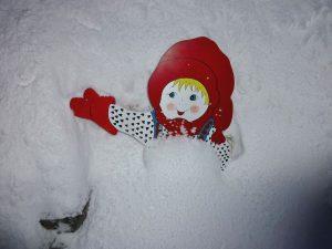 Nissen i snøen