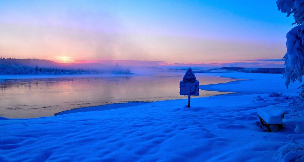 Melkefoss januar 2019